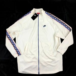 Nike- Taped Tab Poly Full Zip Track Jacket- NWT